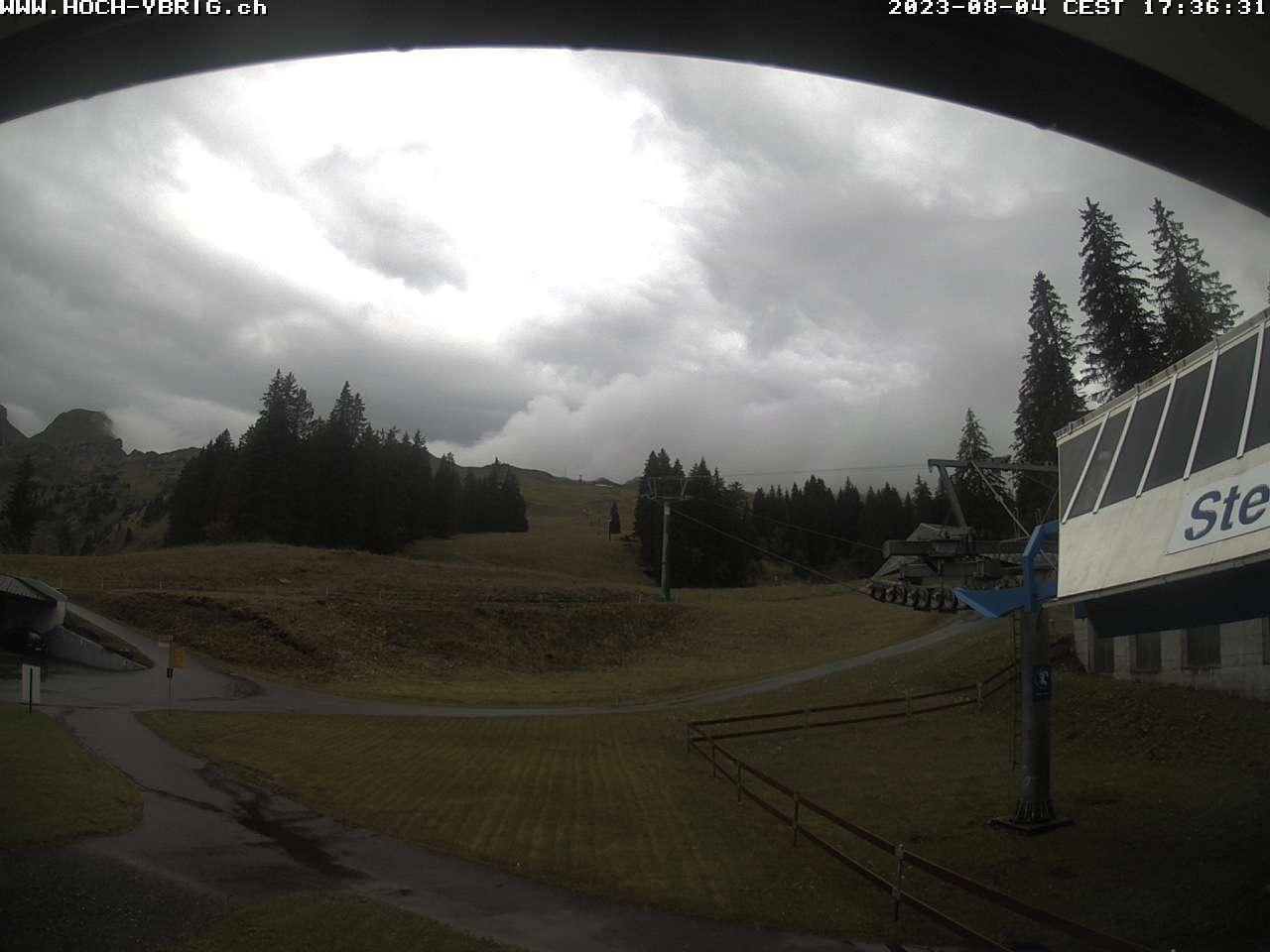 Webcam Hoch-Ybrig Sternen